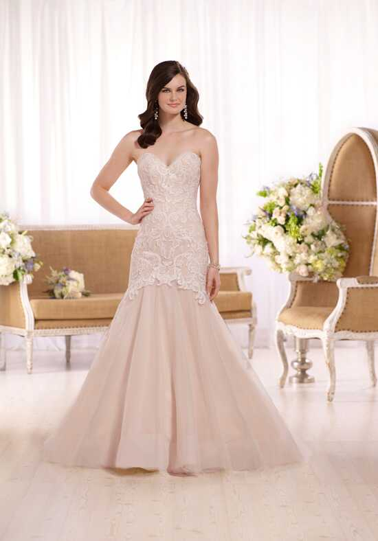 Essense of Australia D2092 Mermaid Wedding Dress