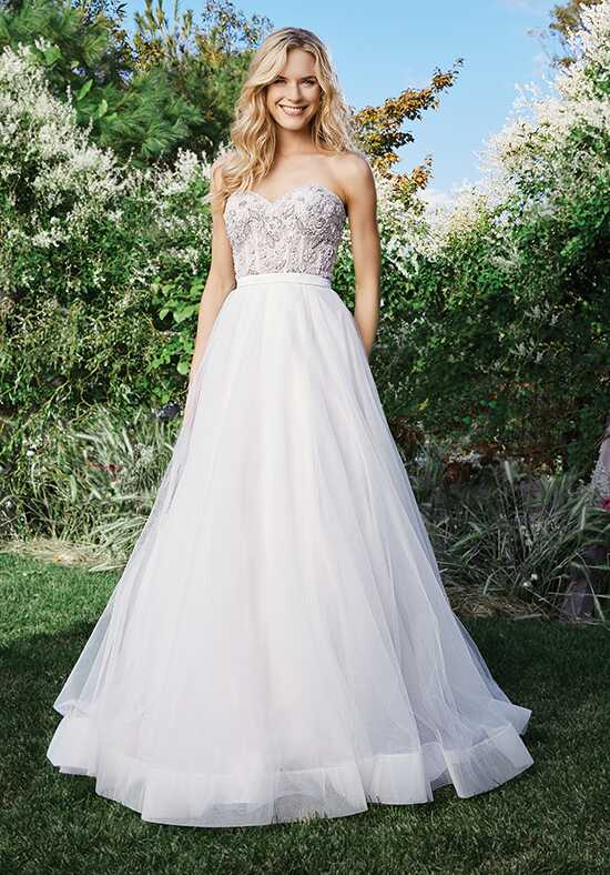 Lillian West 6442 Ball Gown Wedding Dress