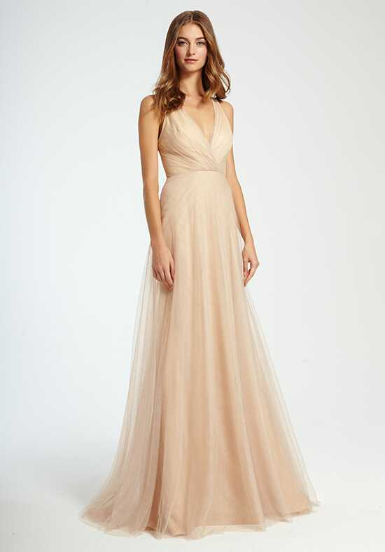 Monique Lhuillier Bridesmaids 450341 V-Neck Bridesmaid Dress