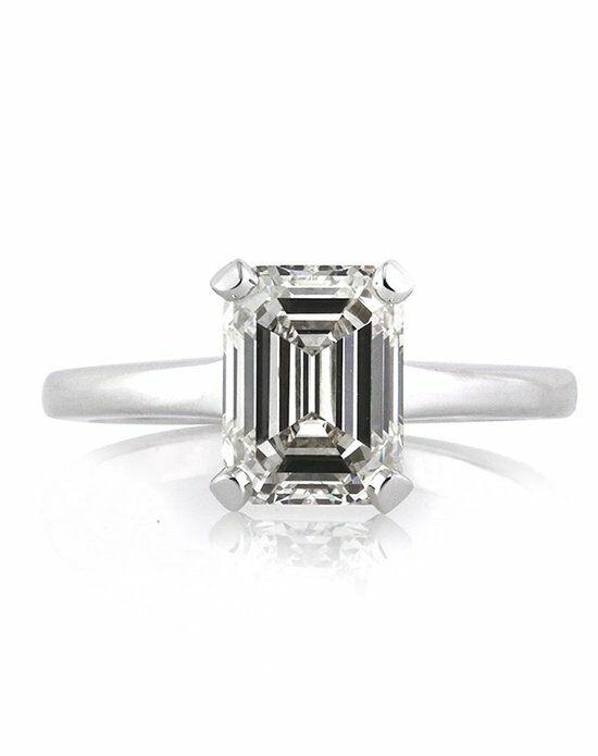 Mark Broumand 2.60ct Emerald Cut Diamond Engagement ...