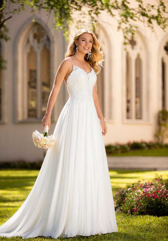 Stella York 6579 Sheath Wedding Dress