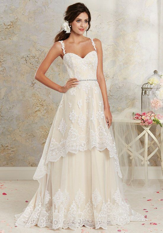 Alfred Angelo Modern Vintage Bridal Collection 8535 Wedding Dress ...