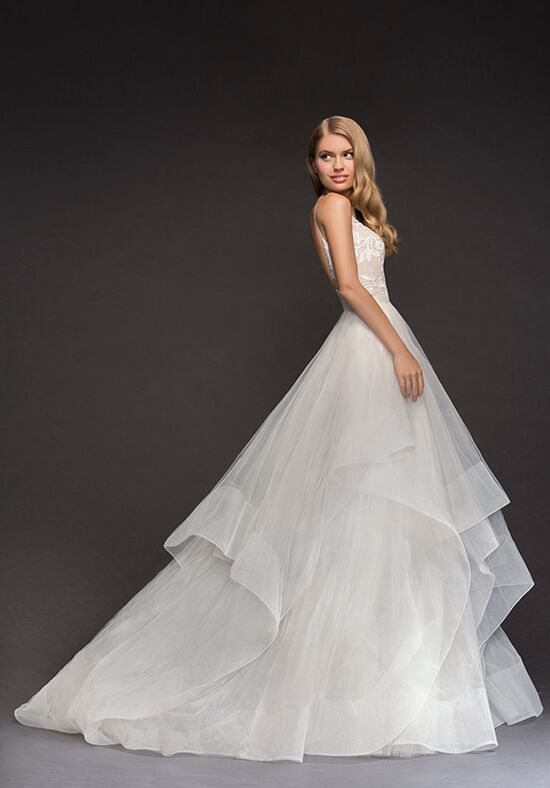 Blush by Hayley Paige 1807-Nessy Ball Gown Wedding Dress
