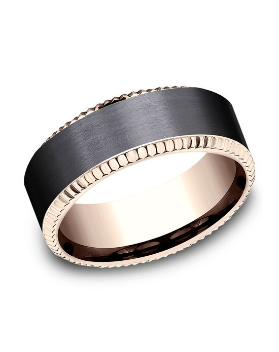 Benchmark CF468527BKT14KR Rose Gold Wedding Ring