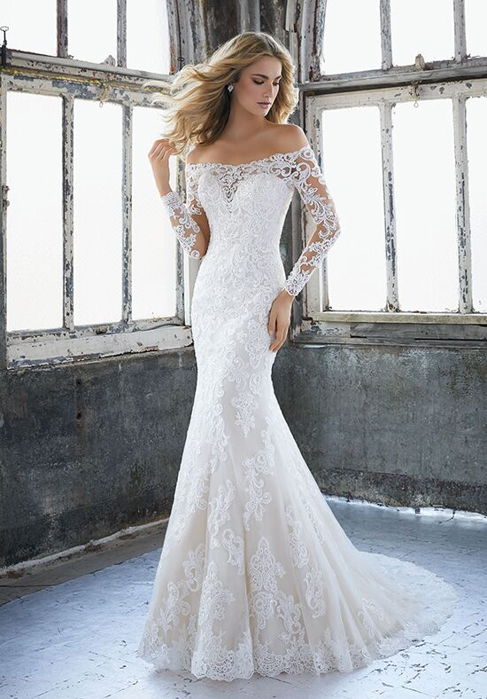Morilee by Madeline Gardner Karlee/ 8207 Sheath Wedding Dress