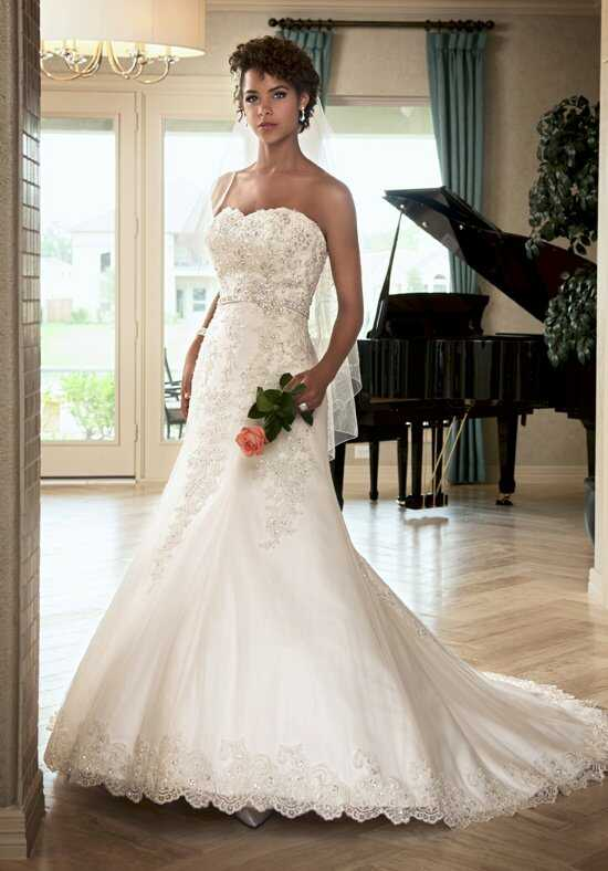 1 Wedding by Mary's Bridal 6217 A-Line Wedding Dress