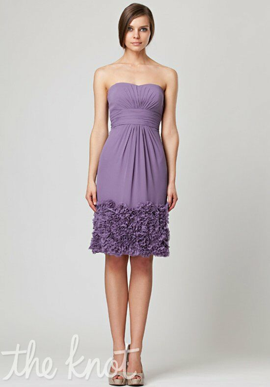 Monique Lhuillier Bridesmaids 450031 Strapless Bridesmaid Dress