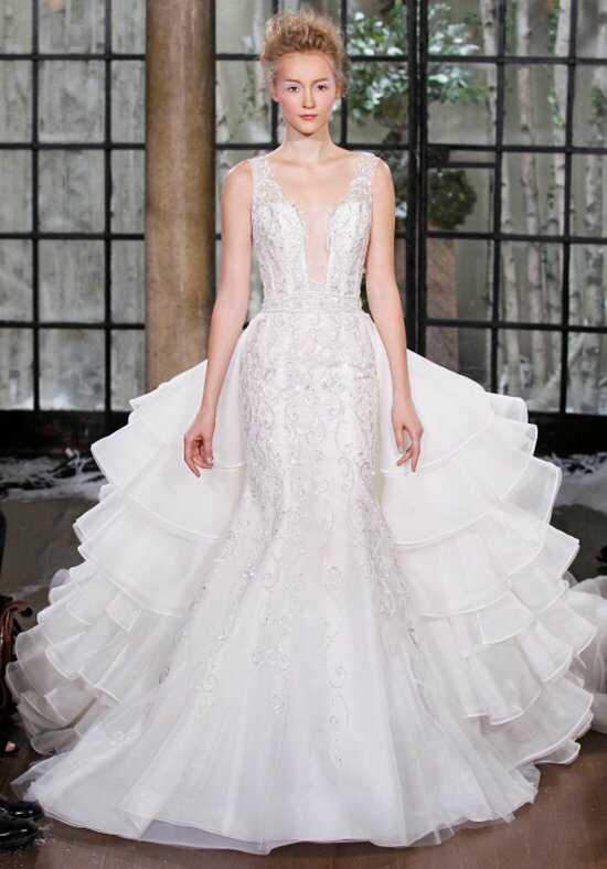 Ines Di Santo Salerno Mermaid Wedding Dress