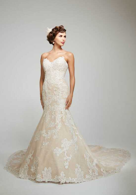Matthew Christopher Daniella Mermaid Wedding Dress