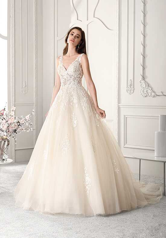 Demetrios 813 A-Line Wedding Dress