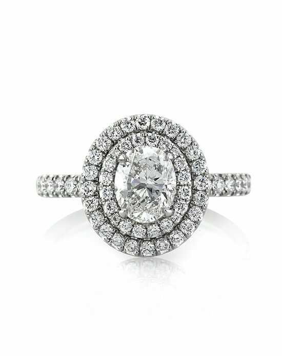 Mark Broumand 1.70ct Oval Cut Diamond Engagement Ring Engagement Ring photo