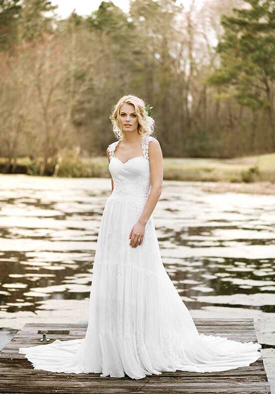 Lillian West 6447 A-Line Wedding Dress