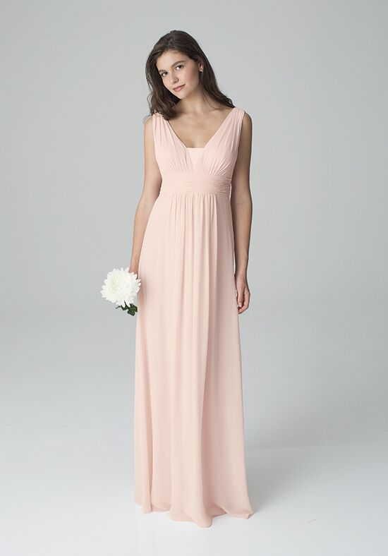 Bill Levkoff 1278 V-Neck Bridesmaid Dress