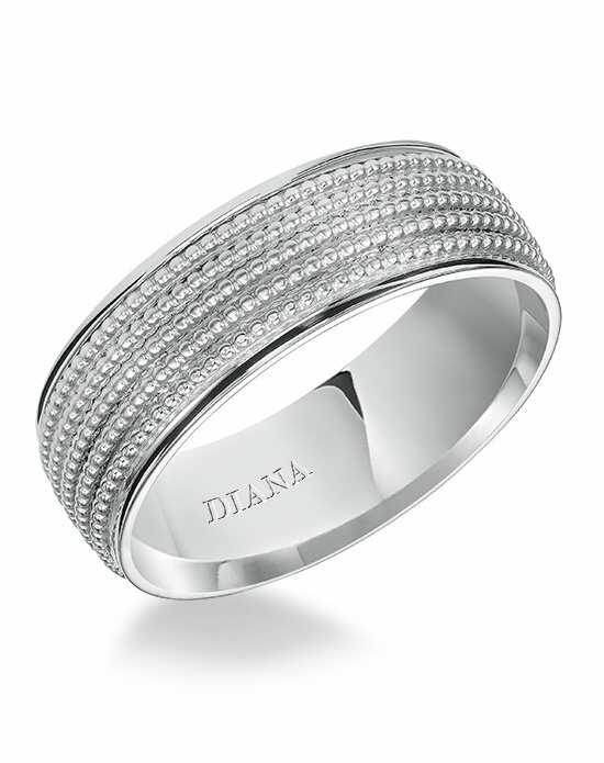 Diana 11-N7695W7-G Platinum, White Gold Wedding Ring