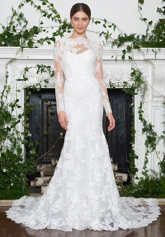 Monique Lhuillier Dawson Mermaid Wedding Dress