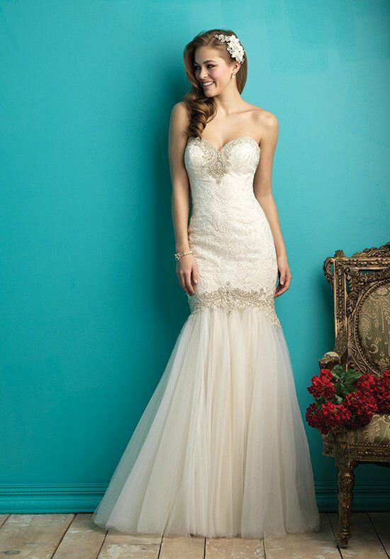 Allure bridals 9263 wedding dress the knot for How do you preserve a wedding dress