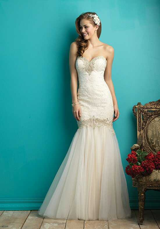 Allure Bridals 9263 Sheath Wedding Dress
