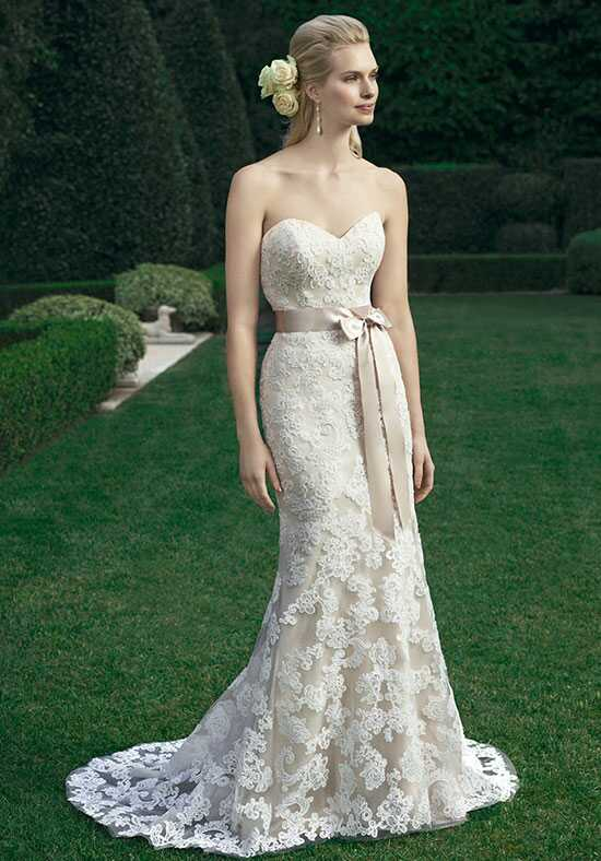 Casablanca Bridal 2221 Sheath Wedding Dress