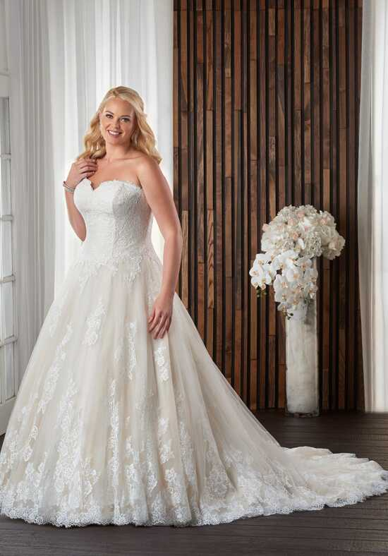 Unforgettable by Bonny Bridal 1711 Ball Gown Wedding Dress