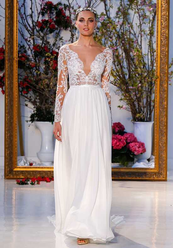 Anne Barge Leyland Sheath Wedding Dress
