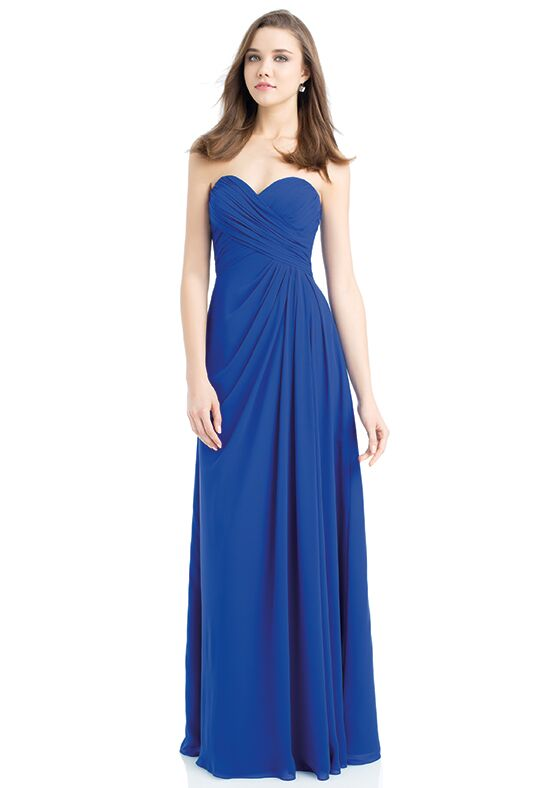 Bill Levkoff 732 Strapless Bridesmaid Dress