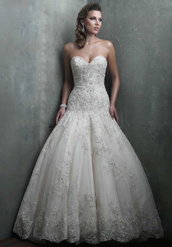 Allure Couture C301 Mermaid Wedding Dress