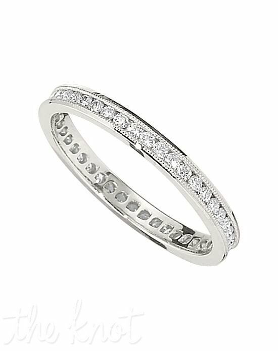 Jeff Cooper R-3303/E Platinum, White Gold Wedding Ring