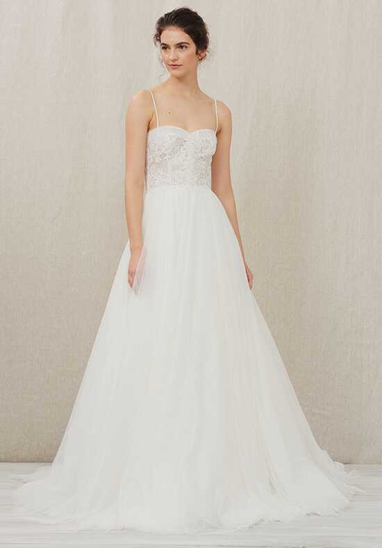 Christos Aubrey Ball Gown Wedding Dress