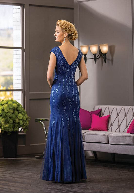 Jade Couture K188059 Blue Mother Of The Bride Dress