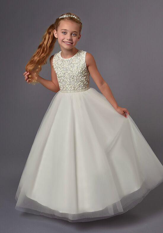 Cupids by Mary's F558 Ivory Flower Girl Dress