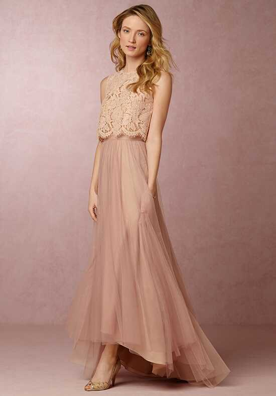 BHLDN (Bridesmaids) Cleo Top-Pink Bridesmaid Dress photo