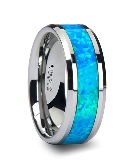 Mens Tungsten Wedding Bands W758-TBGO Tungsten Wedding Ring