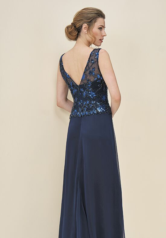 Jade J195063 Blue Mother Of The Bride Dress