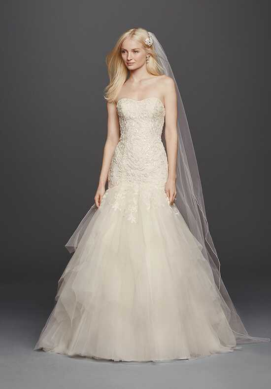 Oleg Cassini at David's Bridal Oleg Cassini Style CWG737 Mermaid Wedding Dress