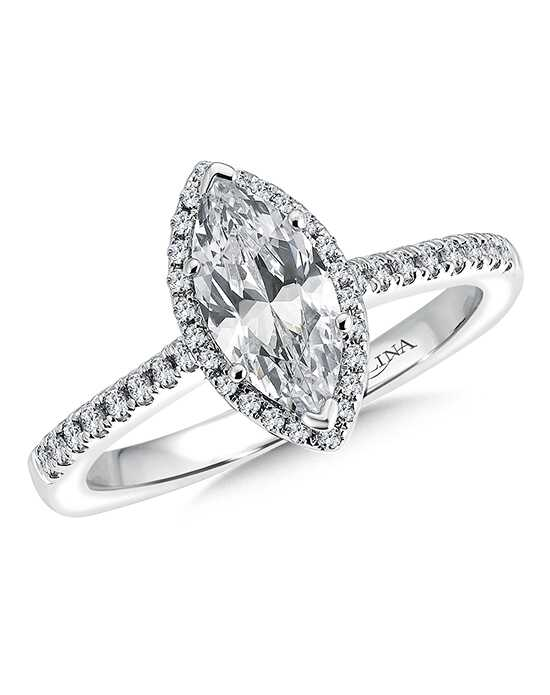 Valina Classic Marquise Cut Engagement Ring