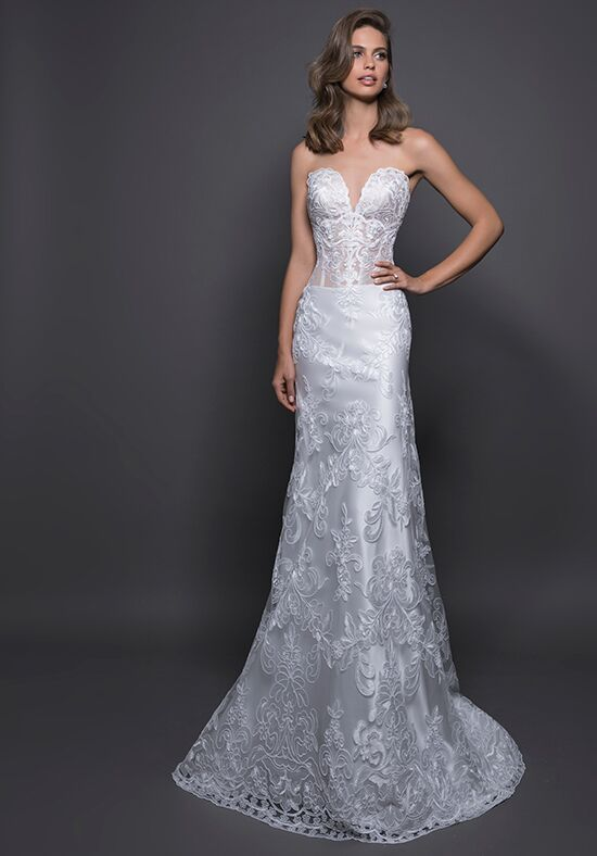LOVE by Pnina Tornai for Kleinfeld 14587 Sheath Wedding Dress