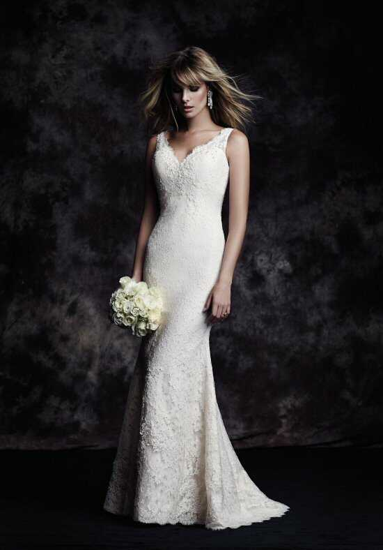 Paloma Blanca 4601 Sheath Wedding Dress