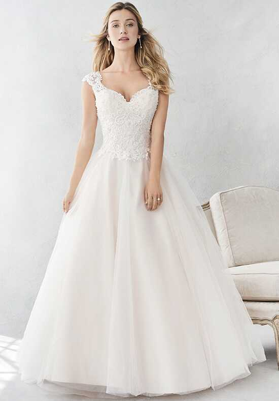 Kenneth Winston: Ella Rosa Collection BE381 Ball Gown Wedding Dress