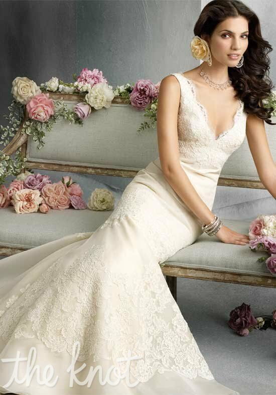Jim Hjelm 8800 Mermaid Wedding Dress