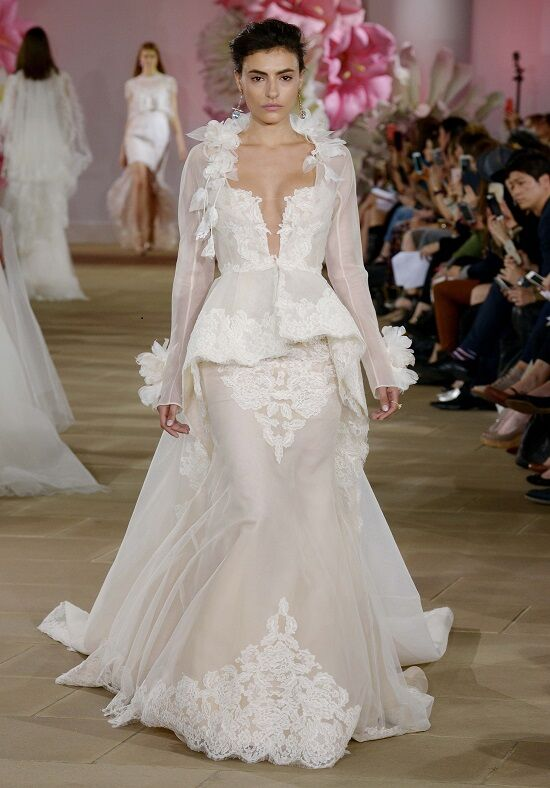 Ines Di Santo Chic Mermaid Wedding Dress