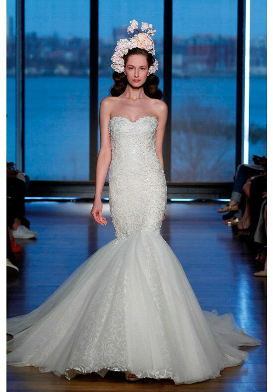 Ines Di Santo Olencia Mermaid Wedding Dress