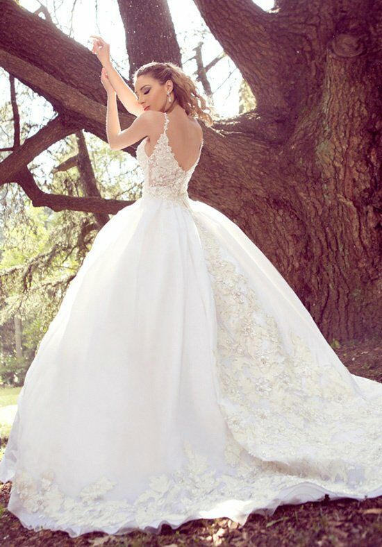 Ysa makino kym64 wedding dress the knot for Ysa makino wedding dress