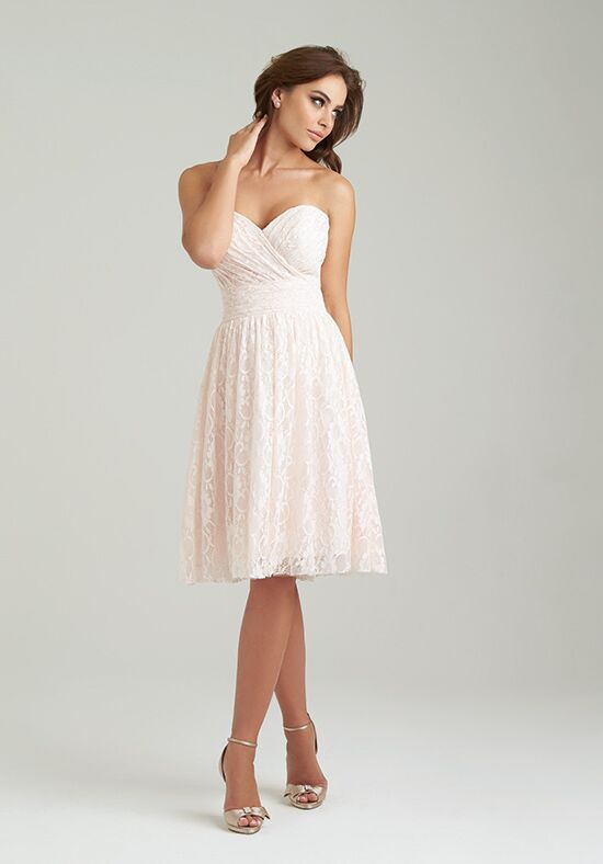 Allure Bridesmaids 1458 Sweetheart Bridesmaid Dress
