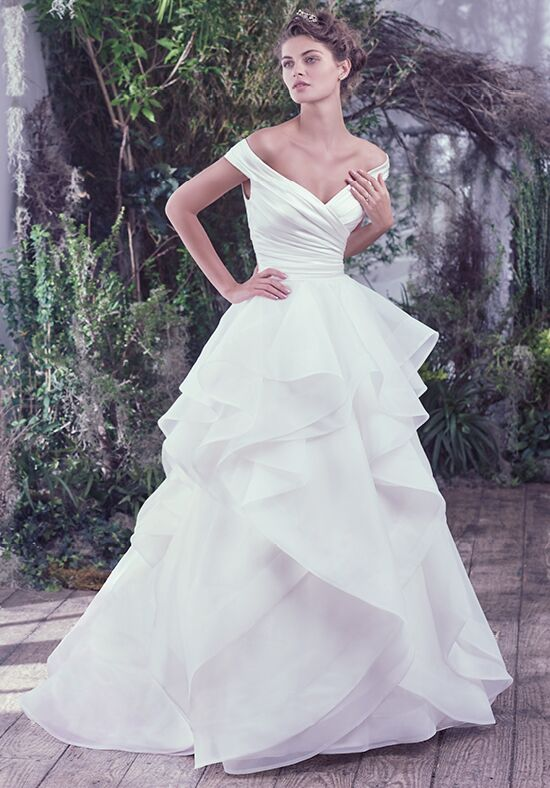 Maggie Sottero Zulani Ball Gown Wedding Dress