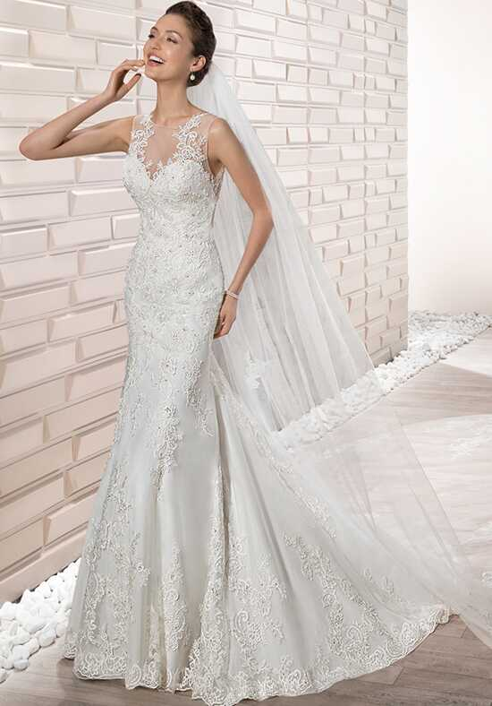 Demetrios 677 Sheath Wedding Dress