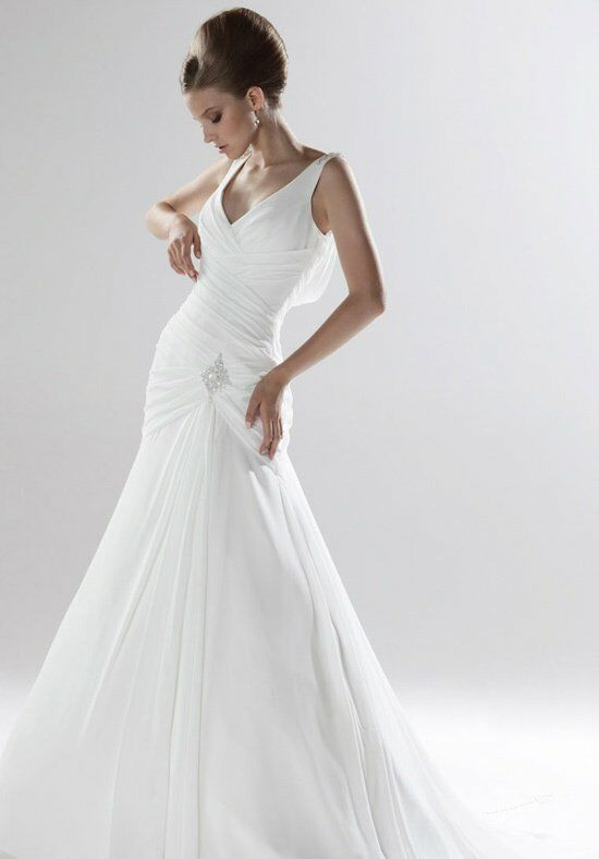 Ellis bridals blossom collection 2014 11129 wedding dress the knot ellis bridals blossom collection 2014 11129 mermaid wedding dress junglespirit Gallery