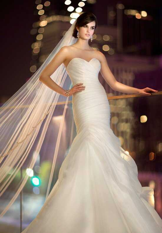 Essense of Australia D1460 Mermaid Wedding Dress