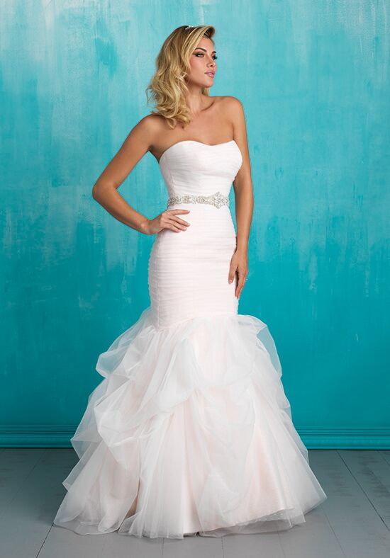 Allure Bridals 9317 Sheath Wedding Dress