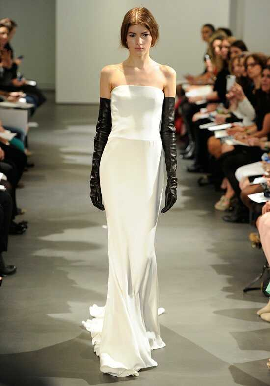 Vera Wang Spring 2014 Look 2 Sheath Wedding Dress