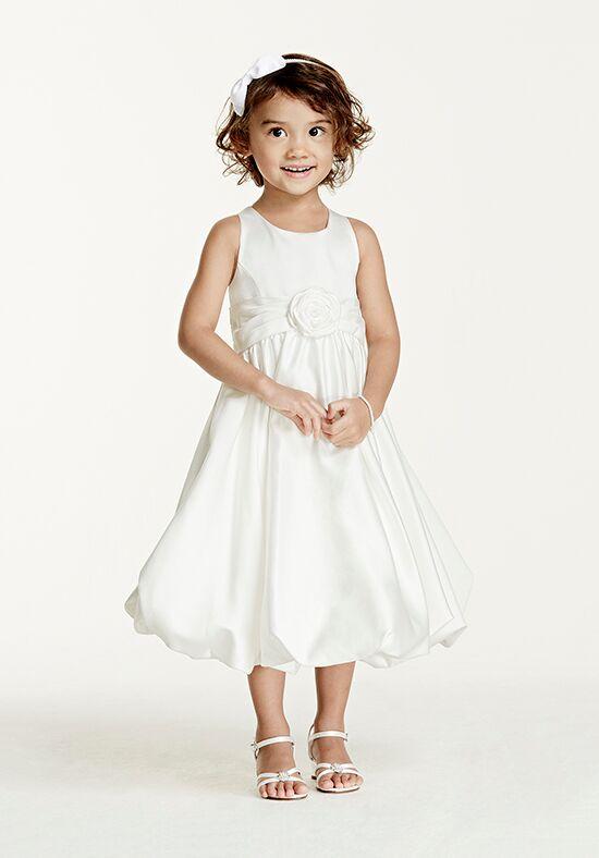 Flower Girl Dresses Davids Bridal White : David s bridal juniors style kp flower